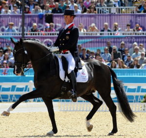 olympic dressage gp 1st day no. 373 car hester uthopia 300dpi